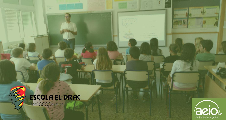 """La """"Escola El Drac"""" apuesta por la formación en ahorro energético"""