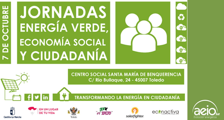 aeioLuz en las Jornadas Energía Verde, Economía Social y Ciudadanía