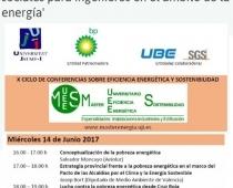 Jornada retos sociales para ingenieros en el ámbito de la energía